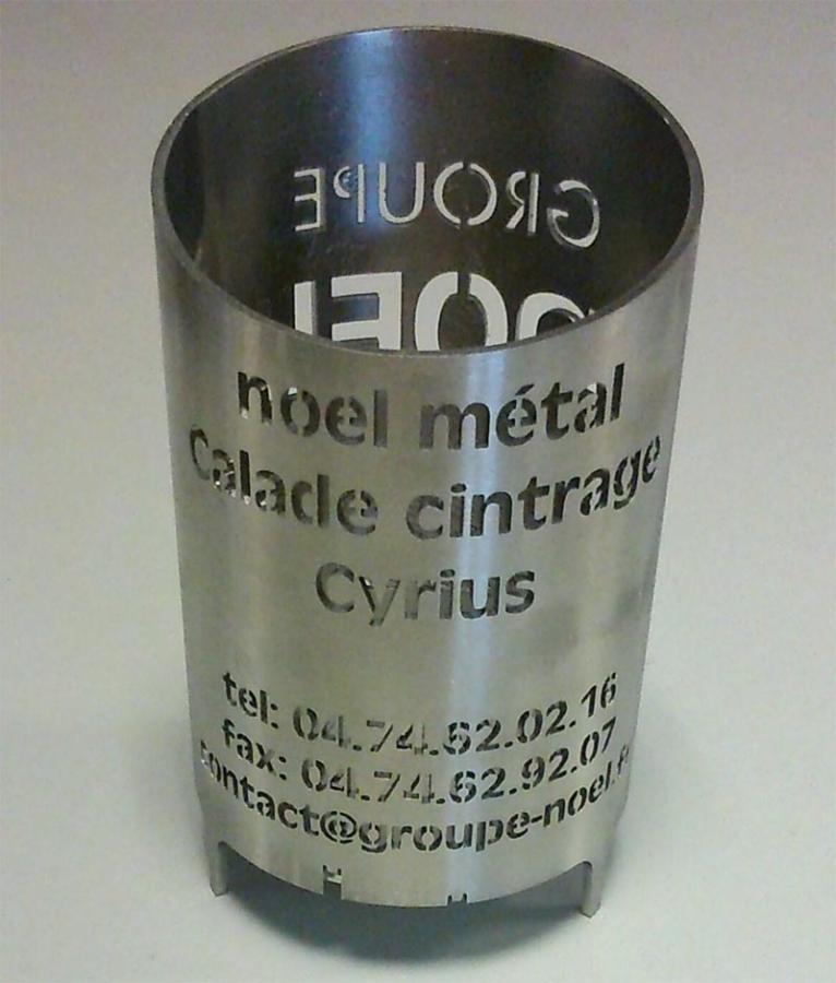 Laser tube GROUPE NOEL