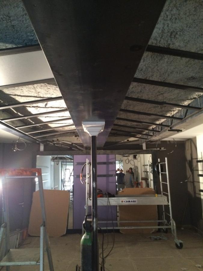 Renovation-plafond-magasin