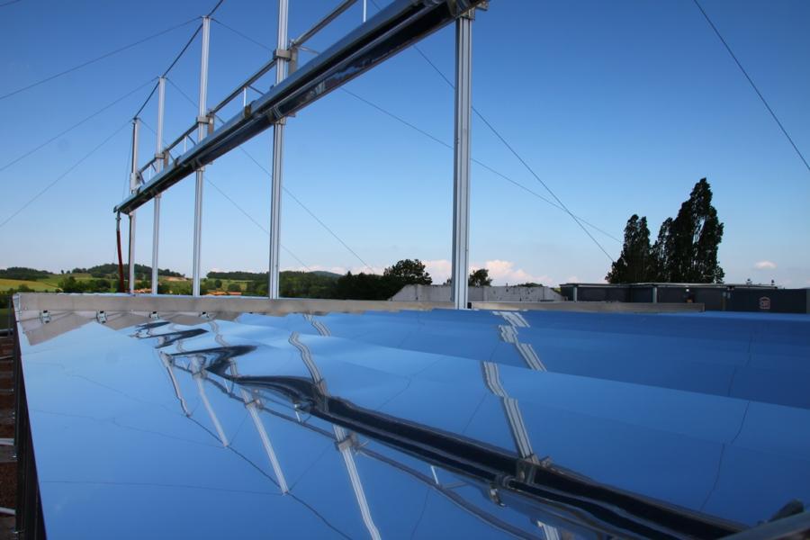 Structure pour panneaux solaires